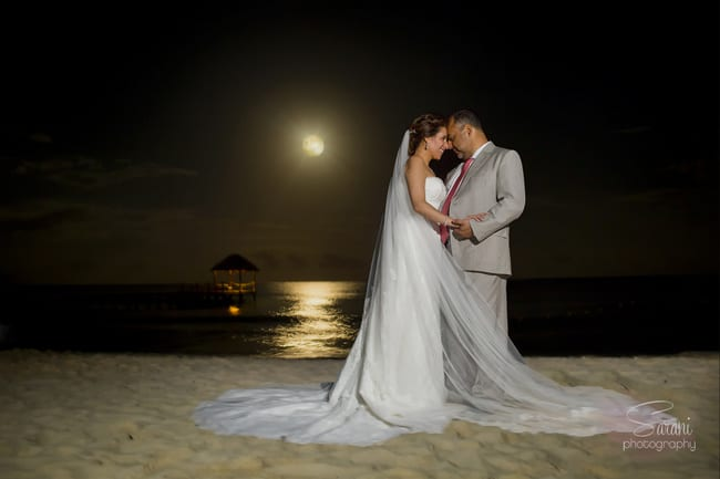 Beach wedding in Playa Del Carmen