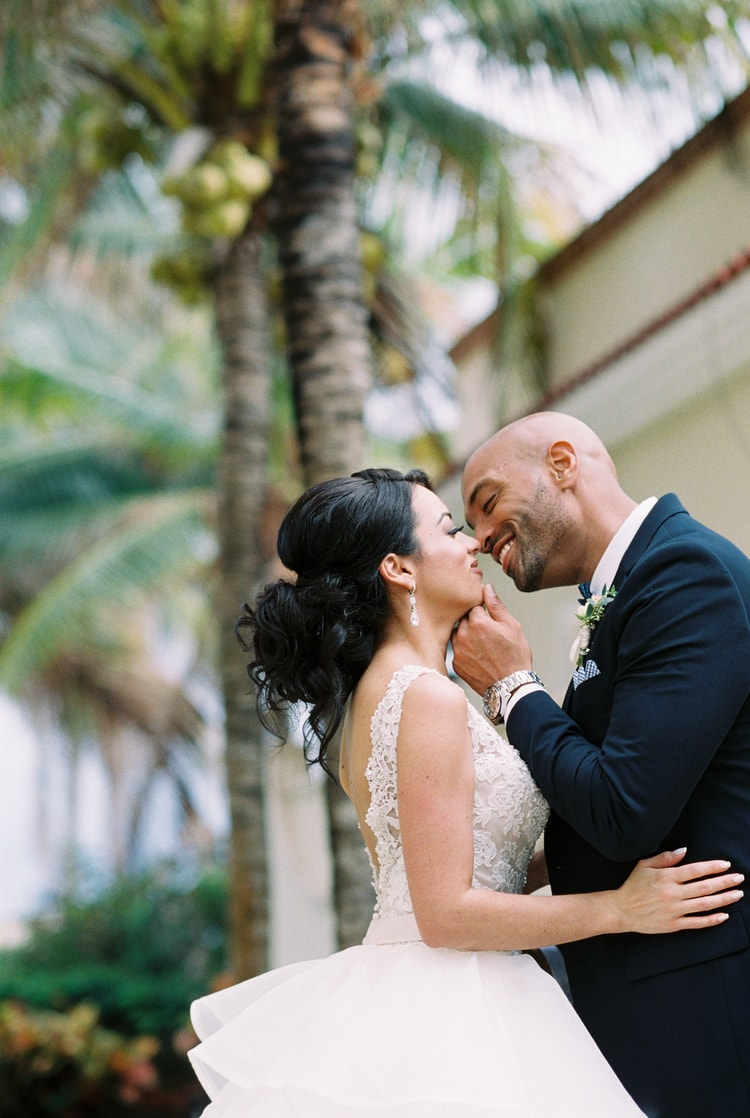 Private Oceanside destination wedding in riviera maya 106