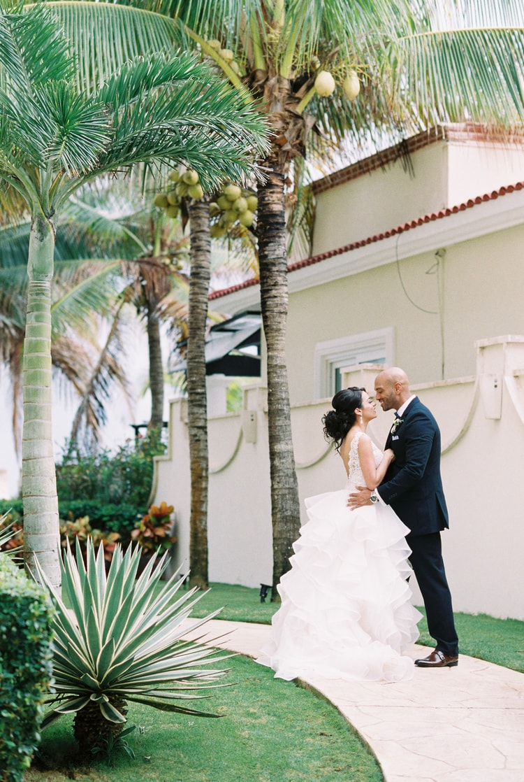 Private Oceanside destination wedding in riviera maya 107
