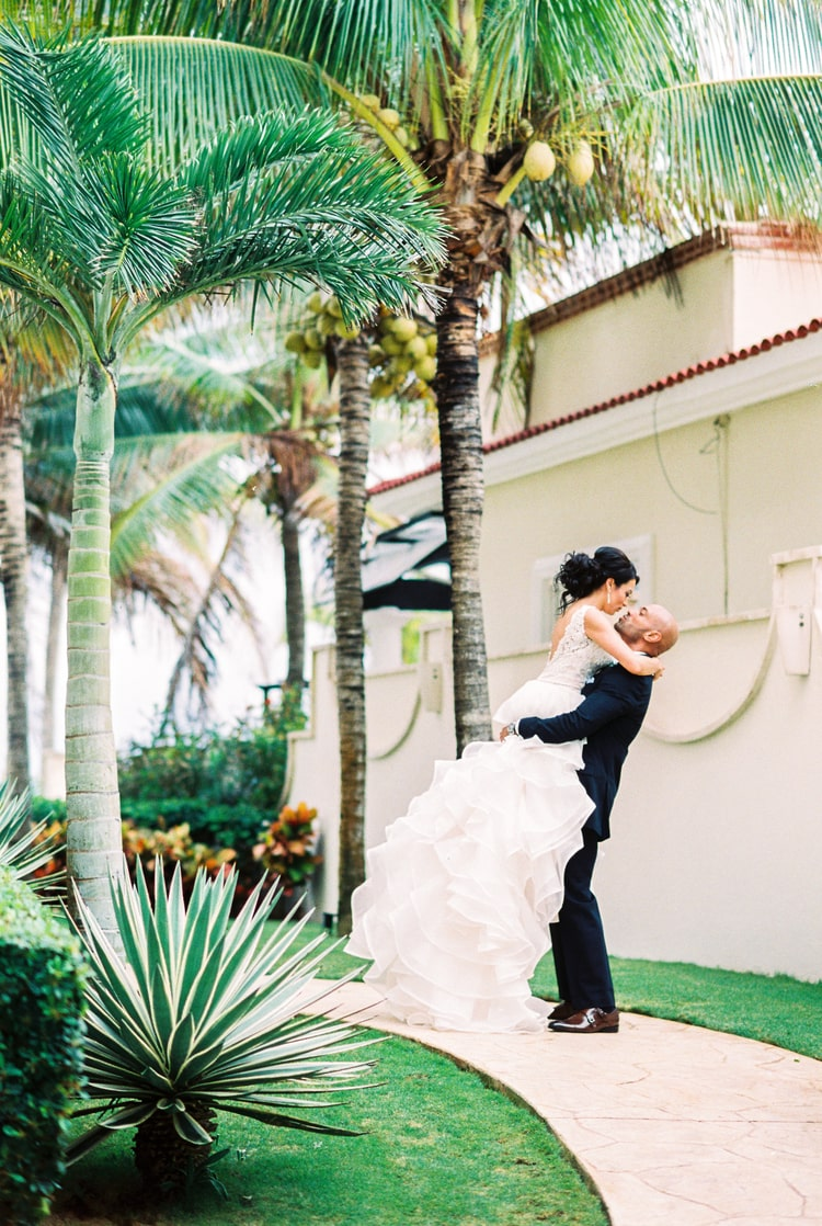 Private Oceanside destination wedding in riviera maya 113