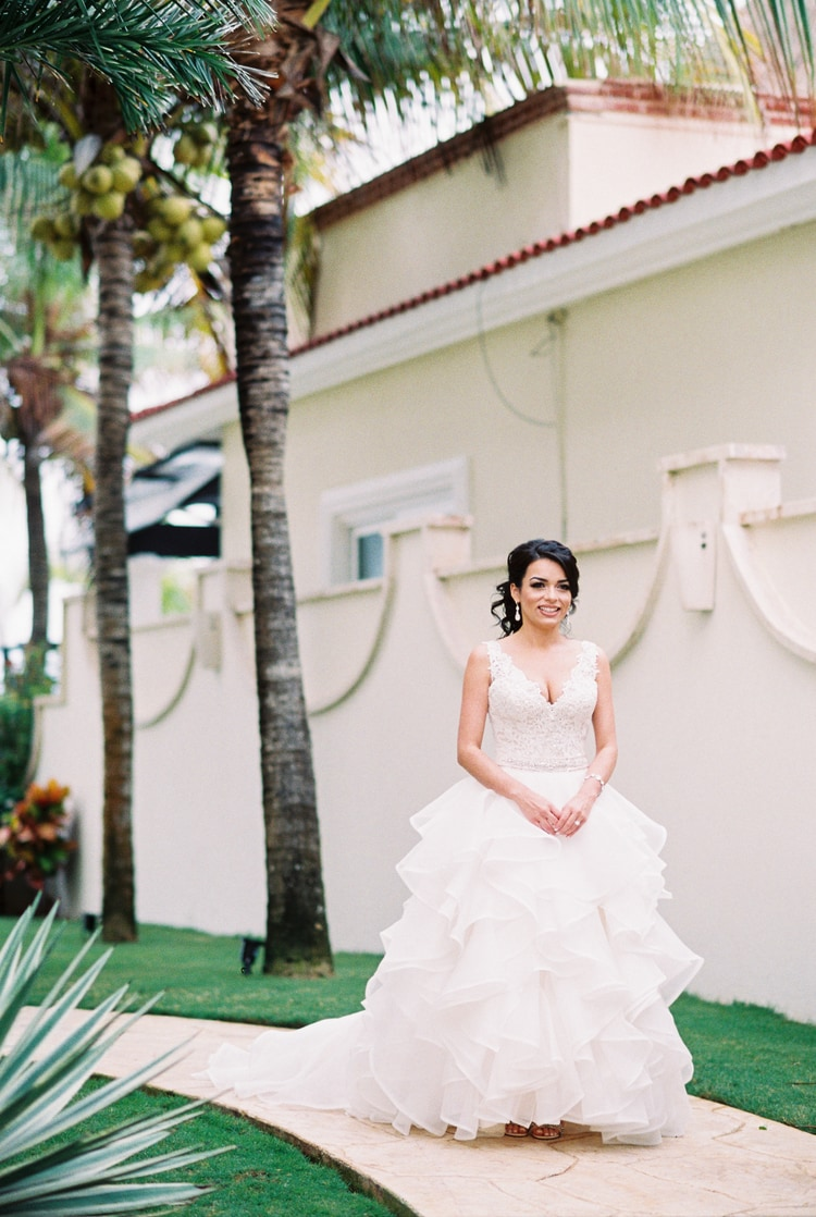 Private Oceanside destination wedding in riviera maya 130