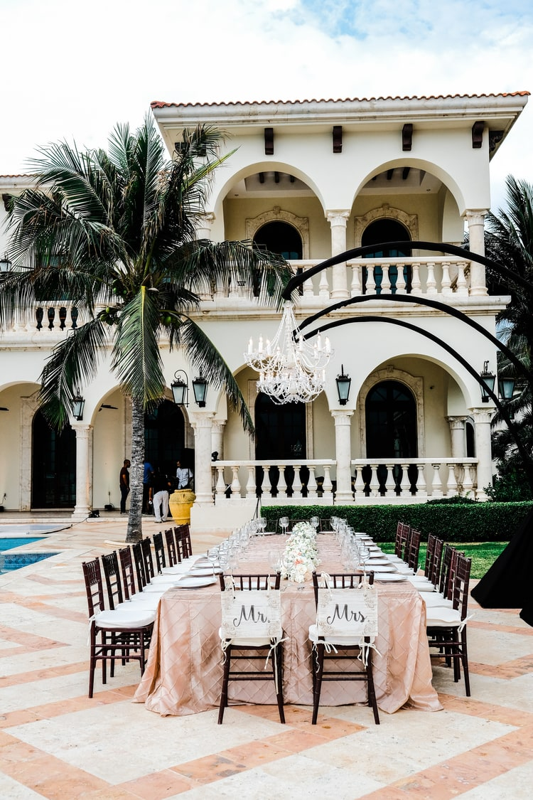 Private Oceanside destination wedding in riviera maya 21