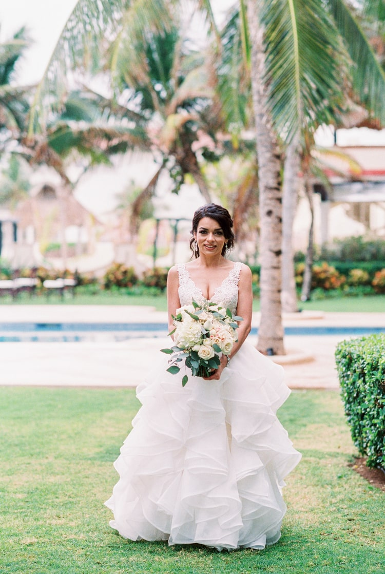 Private Oceanside destination wedding in riviera maya 92