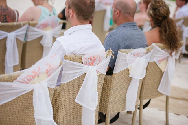 beach wedding chairs