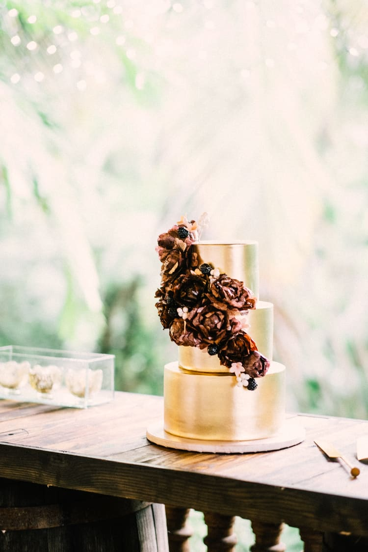 rainforest wedding