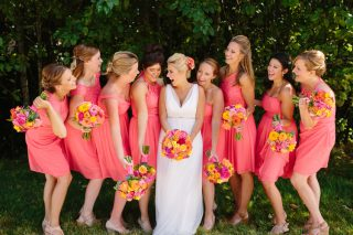 Bright & Colorful Seabrook Destination Wedding