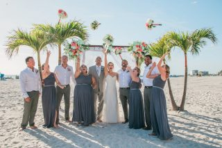 A Romantic Wedding at the Grand Plaza Beachfront Resort