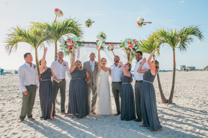 Beautiful Beach Wedding In Cancun Destination Wedding