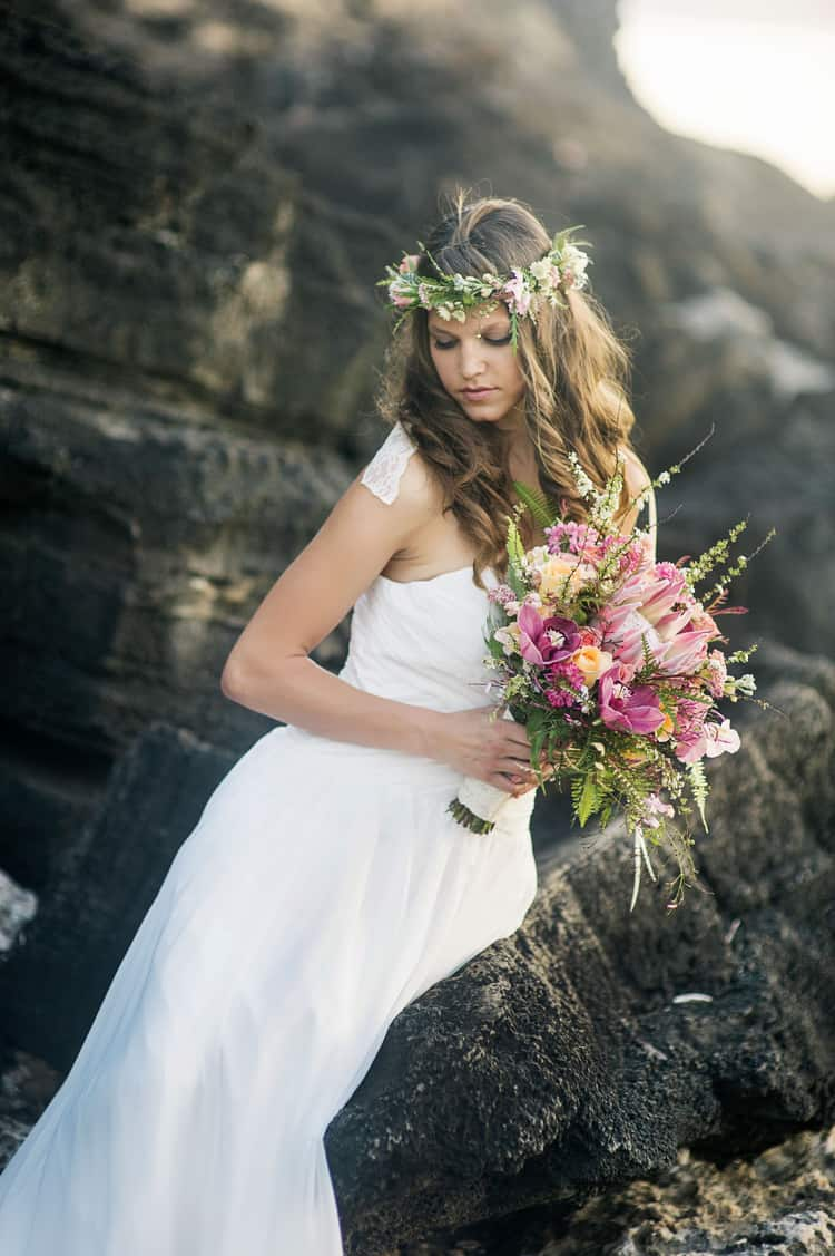 Tropical Beach Wedding
