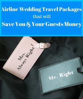 Awesome Wedding Travel Packages That Will Save You Money