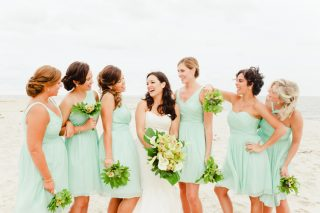 Modern Coastal Wedding on Bald Head Island