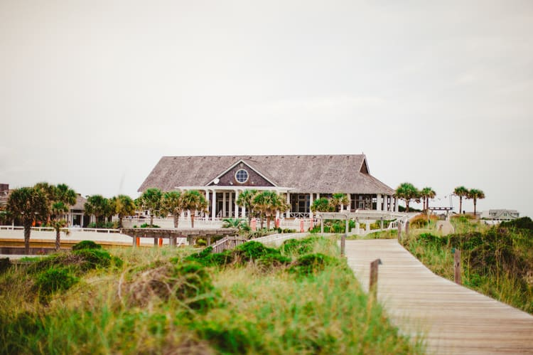 wedding on bald head island