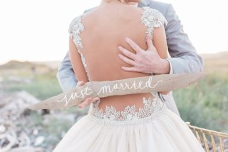 Sand and Blush Wedding Inspiration in Whidbey Island