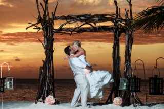 Eco-Chic Wedding in Aruba