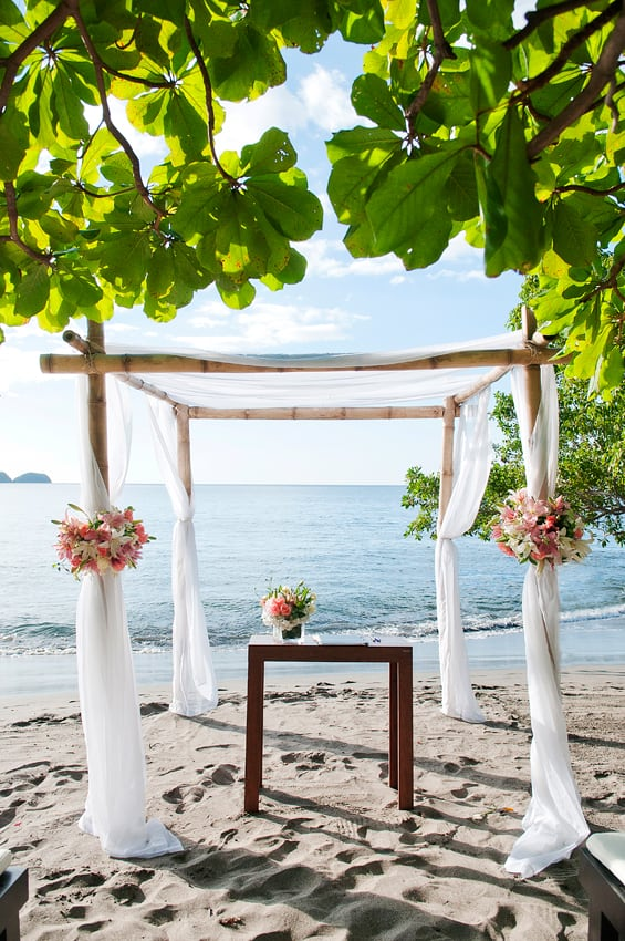 Beach Wedding Arch decorations