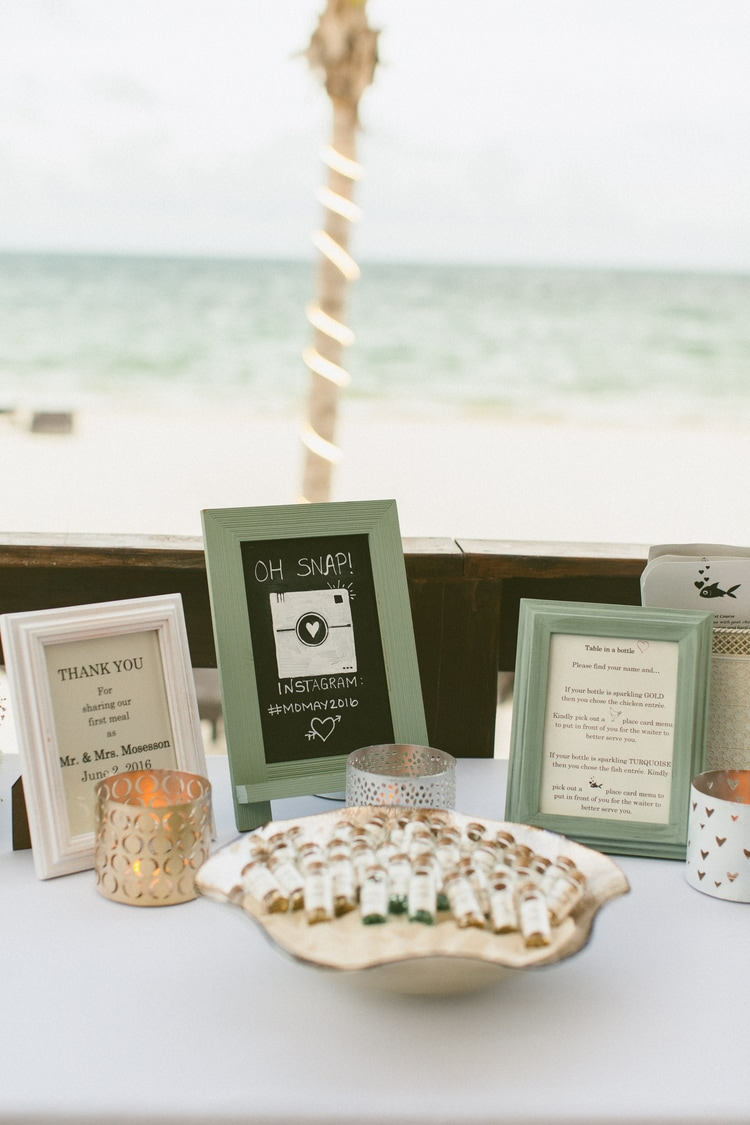 beach wedding at Royalton Riviera Cancun 124