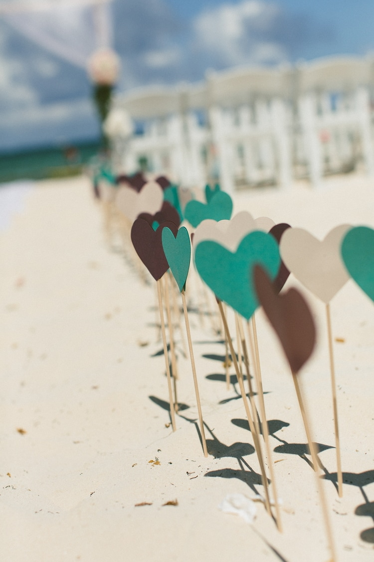 beach wedding at Royalton Riviera Cancun 198