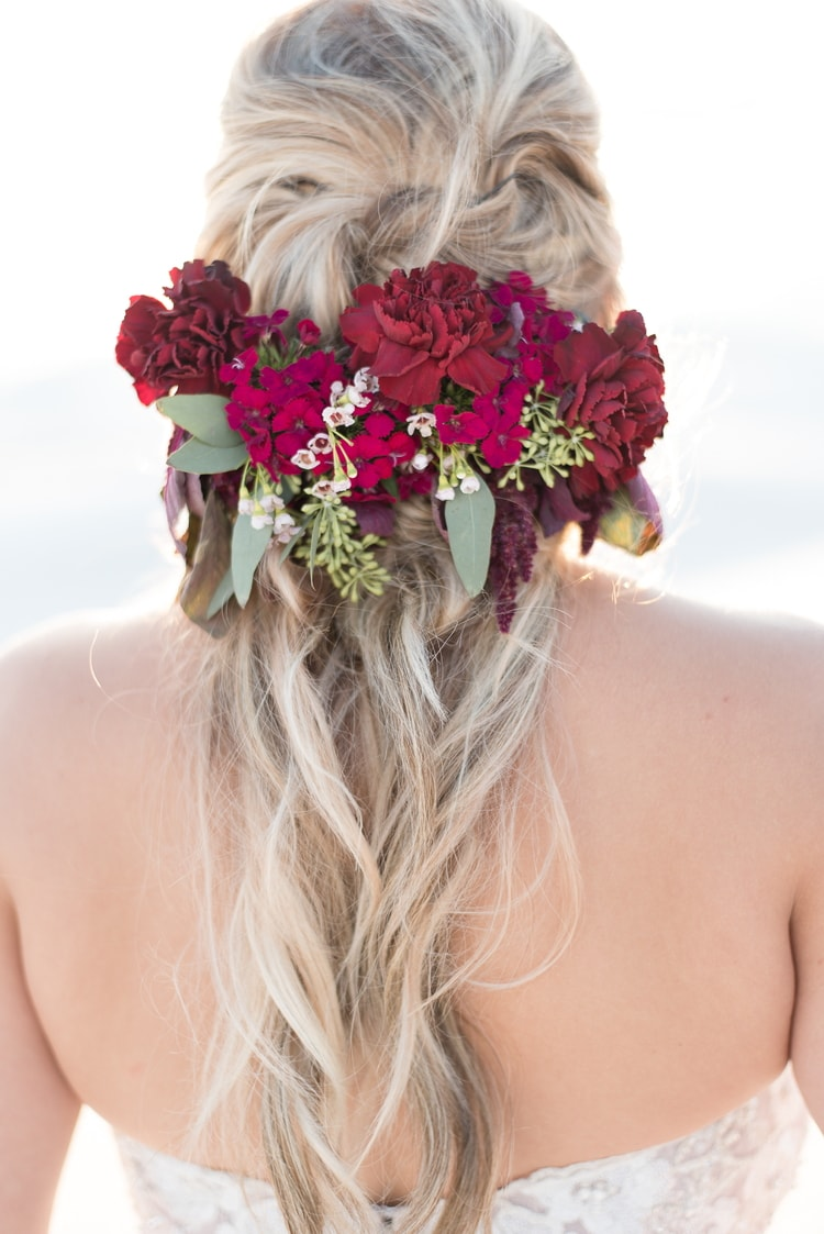 beach wedding hairstyles 2 - beach wedding updo hairstyles