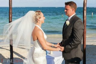 Beautiful Beach Wedding in Cancun