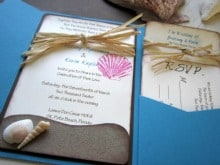 If you're having an untraditional beach wedding, chances are you ...