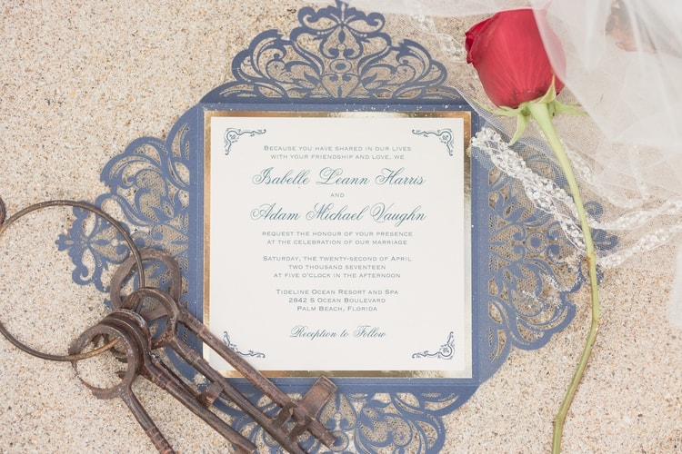 Beauty and the Beach Beauty and the Beast Themed Wedding