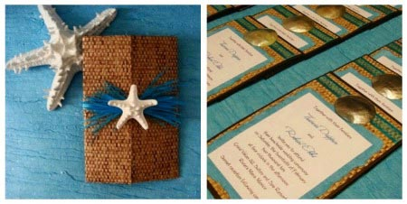 best destination wedding invitations #3