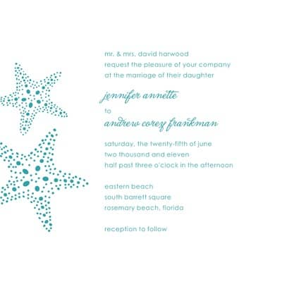 5 best destination wedding invitations #4