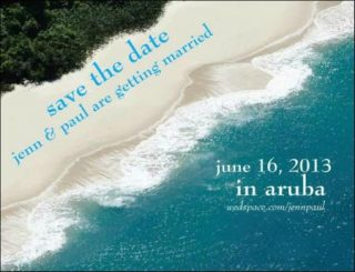 Best Destination Wedding Save the Date