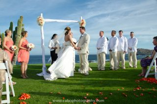 Romantic Destination Wedding in Cabo San Lucas