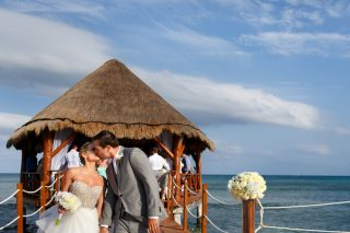 NYC Style Meets Mexican Fiesta in Cancun Destination Wedding