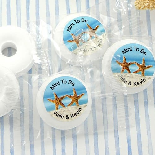 beach wedding candy favors