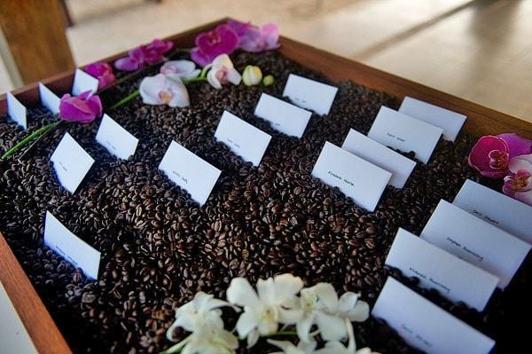 costa rica place card holder