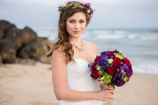Creative and Mystical Beach Wedding Inspiration