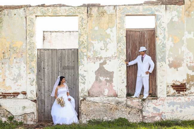 cuban wedding photos
