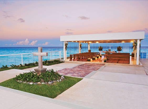 best destination wedding locations - Gran Caribe Real Chapel