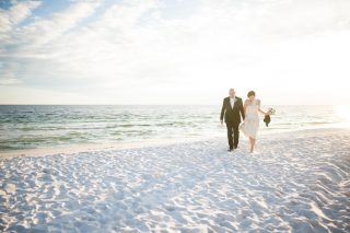 An Intimate & Emotional Destin Beach Wedding