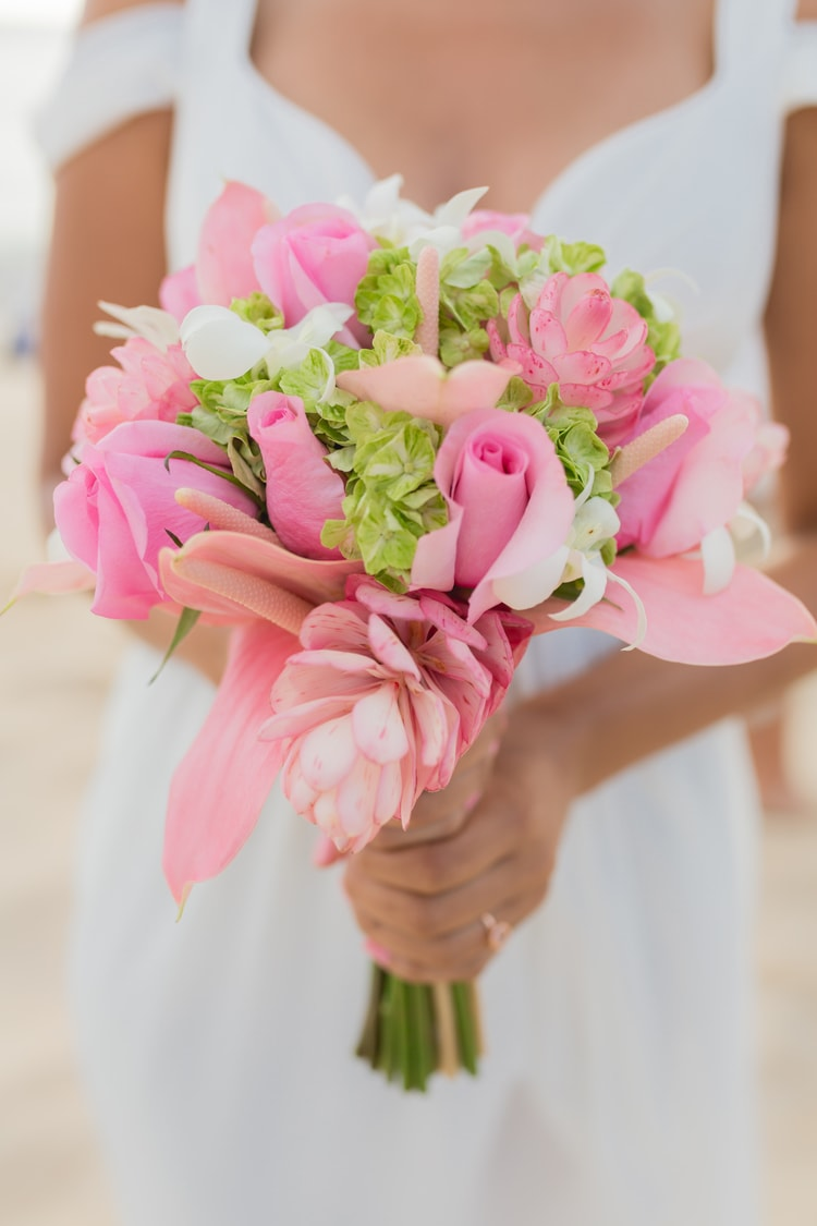 destination wedding bouquets 25