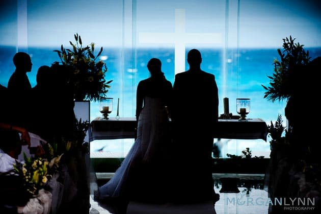 Gran Caribe Real Glass wedding chapel