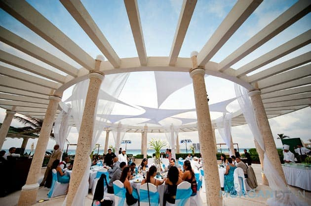 Cancun Beach Wedding Gazebo