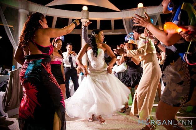 cancun real destination wedding