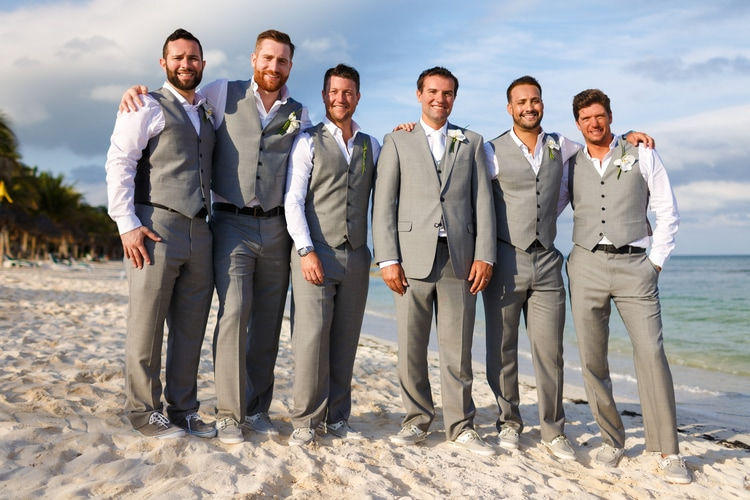 50+ Stylish Destination Wedding Groom Attire Ideas | Destination ...