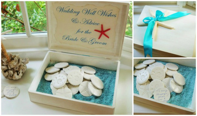 destination wedding guestbook ideas