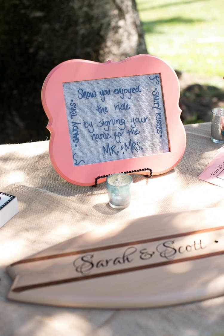 alternative destination wedding guest book
