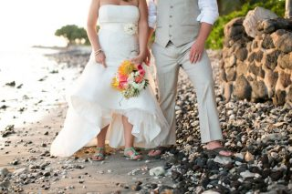Rustic DIY Destination Wedding in Hawaii
