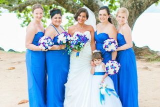 A Simple and Elegant Destination Wedding in Kauai, Hawaii