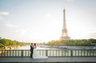 An Elegant River Boat Destination Wedding in Paris with Stunning Views