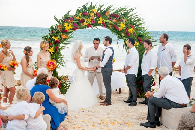Tropical Tulum Wedding