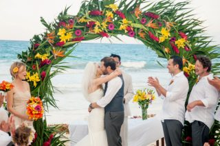 Tropical Destination Wedding in Tulum