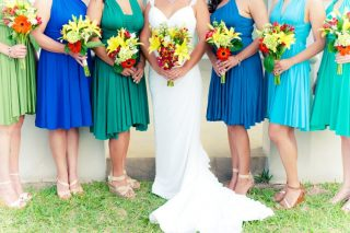 Vivid Destination Wedding in the Bahamas
