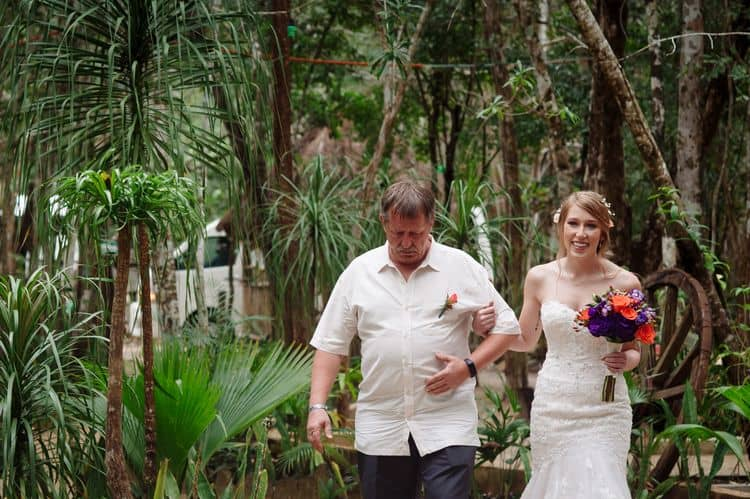 destination wedding in tulum cenote 1